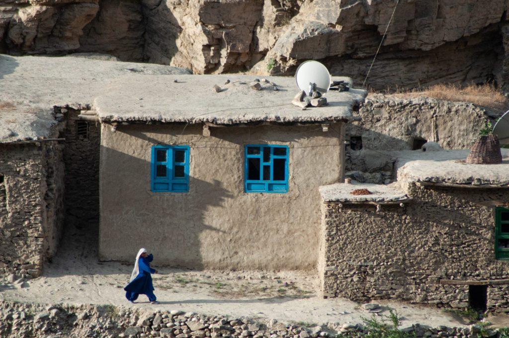China shumian Talibanes Cabul