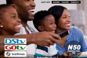 CABLE TV SUBSCRIPTION (DSTV/GOTV/STARTIMES)