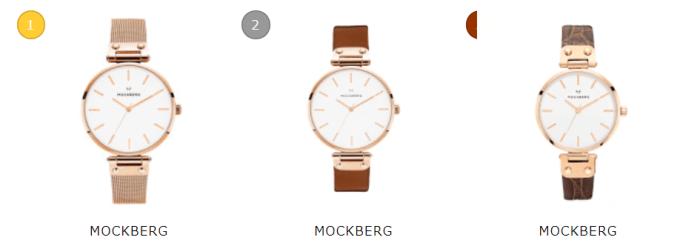 モッグバーグー腕時計