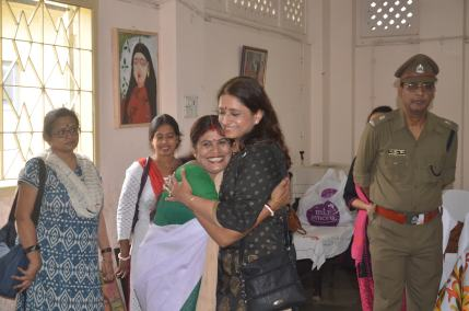 Rupsi Burman, Founder SHURU Kolkata meets and greets a dear one