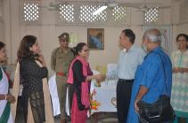 Artists meet and greet Director General & Inspector General of Correctional Services, West Bengal, Mr. A. K. Gupta