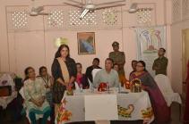 Rupsi Burman sharing about Shuru Kolkata