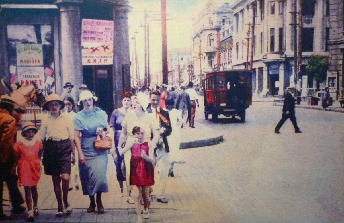 昔のハルビンの街の様子の写真その3
