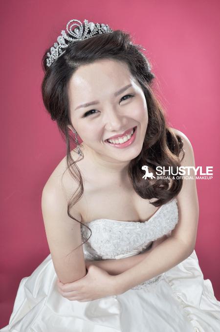 ShuStyle 舒小蜜的清甜新娘造型