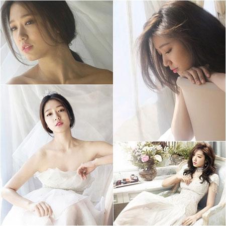朴信惠超唯美韓風婚紗髮型特輯