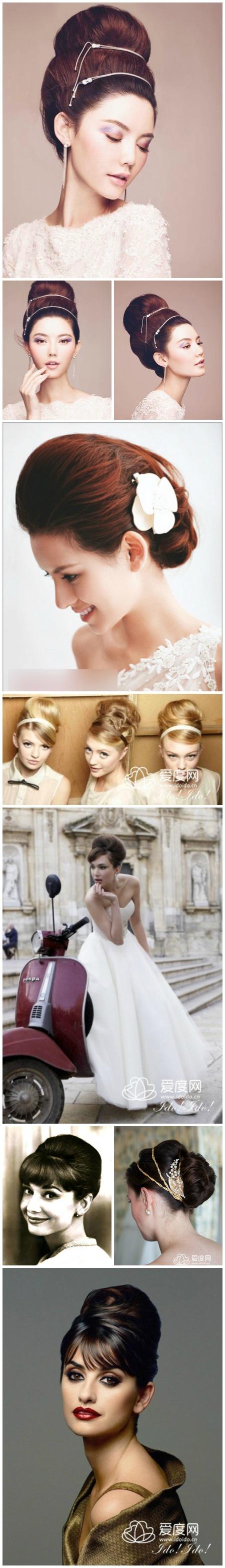 復古新娘造型特輯-多款經典復古髮型 讓你愛不釋手