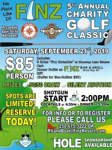 Finz Annual Charity Golf Classic poster