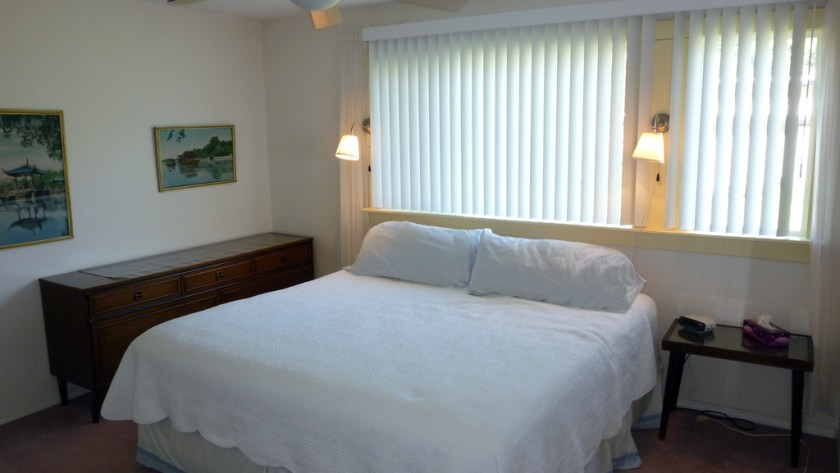 King Bedroom in Shuswap Vacation Rental in Chase BC