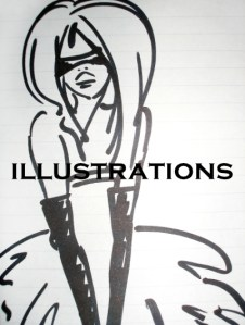 Illustrations and sketches for sale
