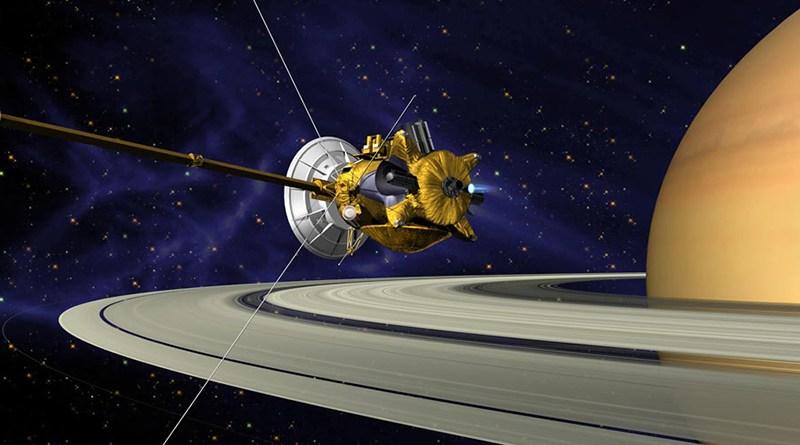 Cassini probe