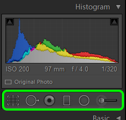 Lightroom Develop Module Tools