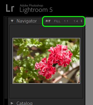 Lightroom Library Navigator
