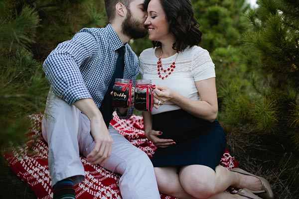 75 Baby Announcement Ideas For Christmas