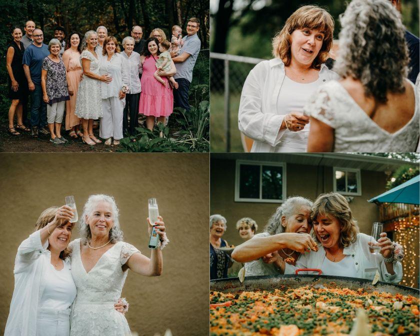 Ann and Candace's Gay/Pride Wedding. So beautiful! Minnesota Weddings!