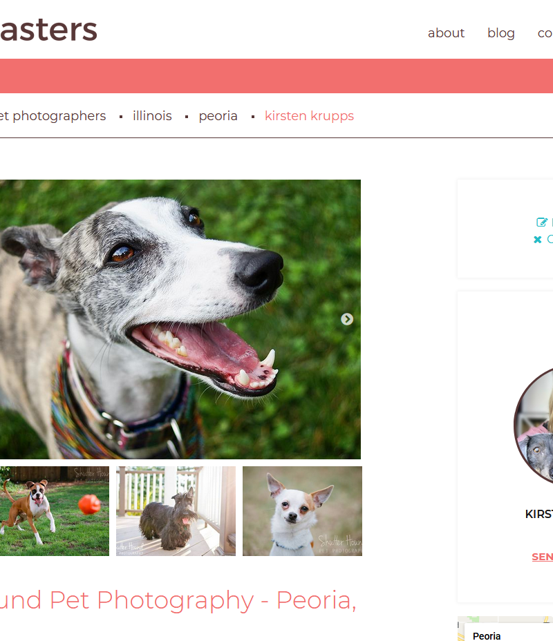 I'm Now Featured on PetMasters.com!