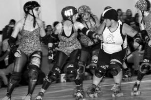 Chicks Ahoy vs Gore Gore Rollergirls