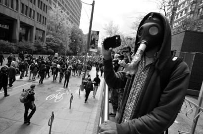 Gas Mask Bonging