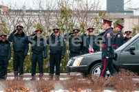 Saluting The Hearse