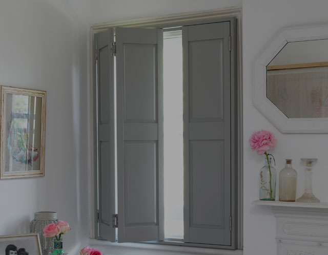 traditional solid shutters