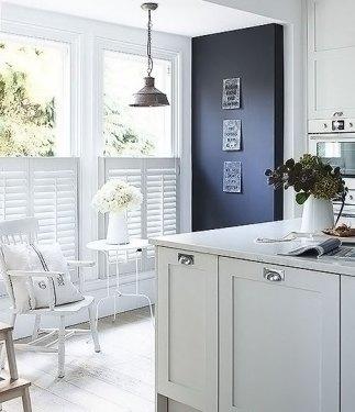 Kitchen Window Cafe Style Shutters