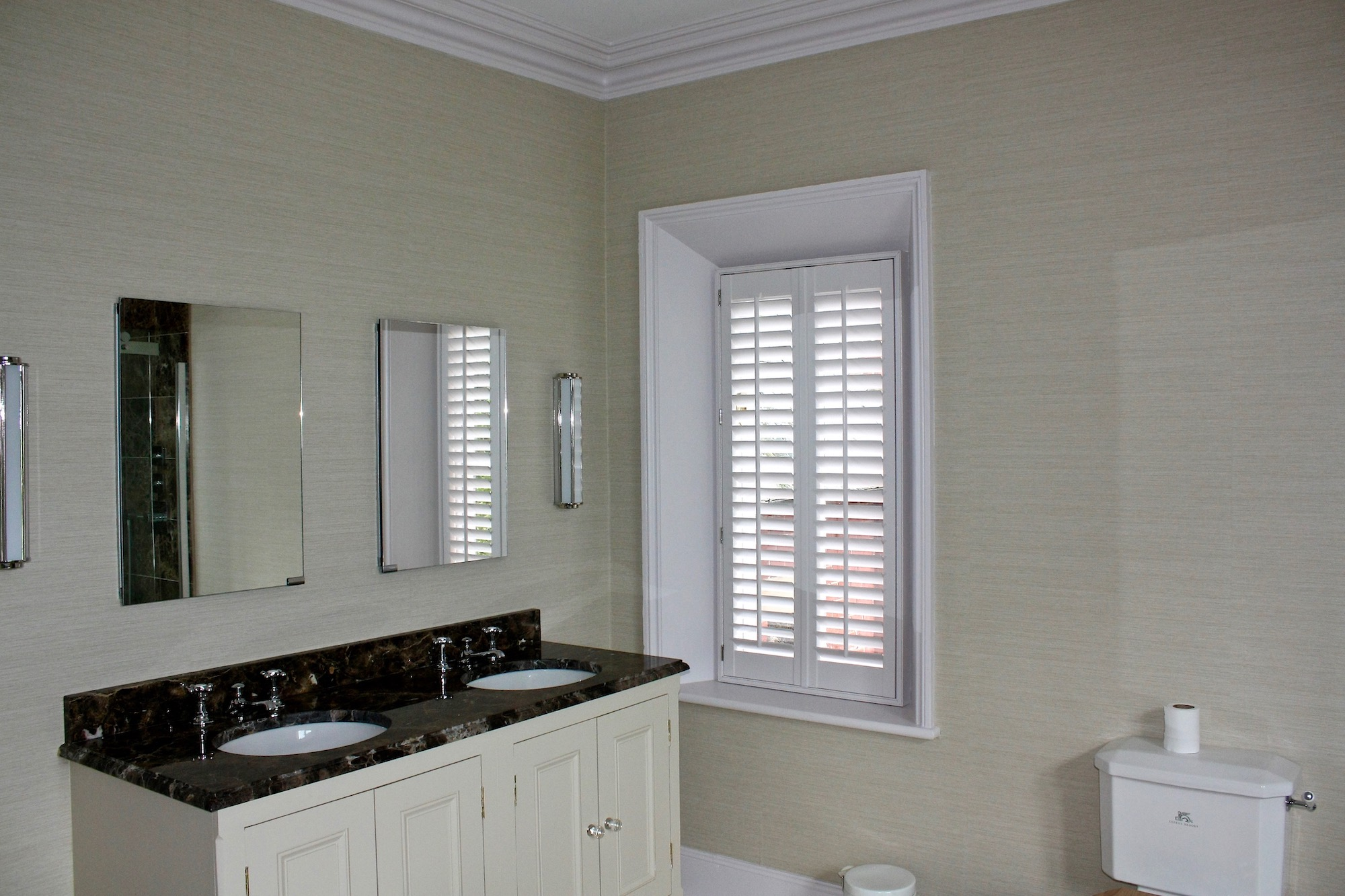 Plantation Shutters In Bathrooms Shutter Perfection