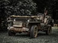 American Army jeep.
