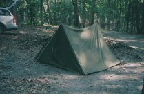 My U.S. Army M1942 pup tent.
