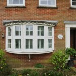 Bay Window Shutters Fitted In New Forest Shuttersouth