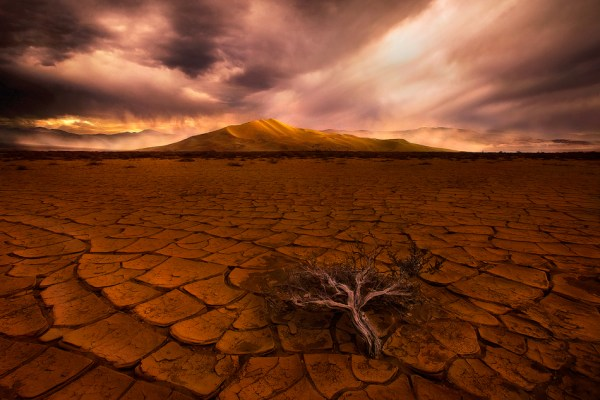 desert and mountain