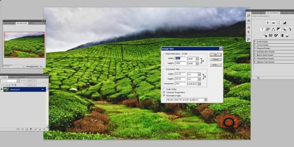 photoshop image parameters