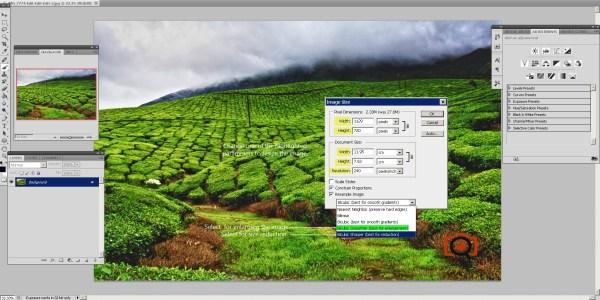 Image resize parameters explained