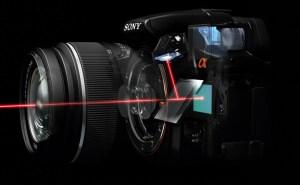 Working mechanism of DSLT camera.