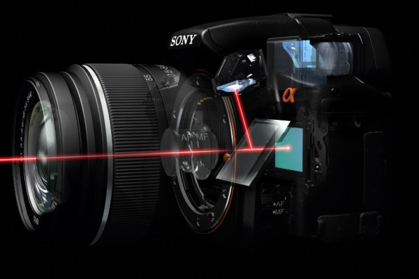 Sony-translucent-mirror- DSLT