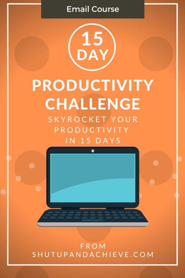 15 Productivty Challenge