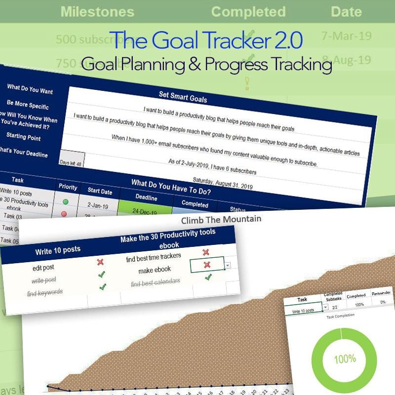 The Goal Tracker 2.0