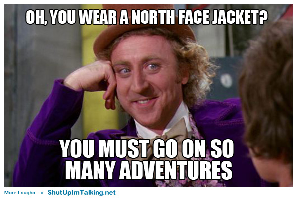 The North Face Shut Up I M Talking