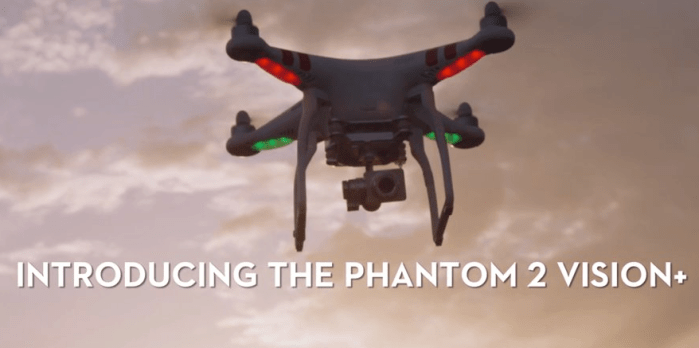 DJI – Introducing the Phantom 2 Vision Plus