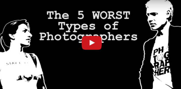 5 WORST Types of Photographers