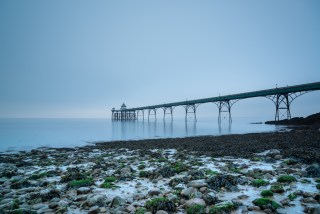 "Into The ""Blue"" Clevedon Pier"