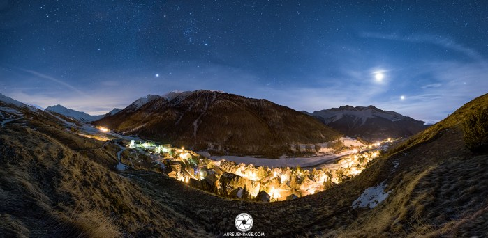 Queyras by night