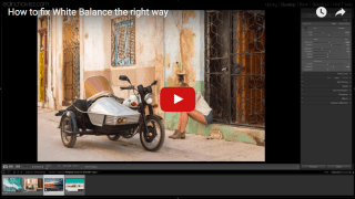 how to fix white balance