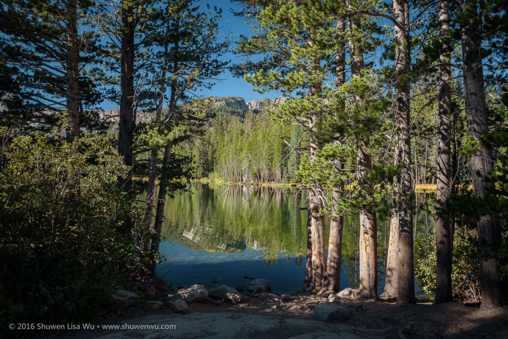Lake Mamie, Mammoth Lakes, California, September 2016.