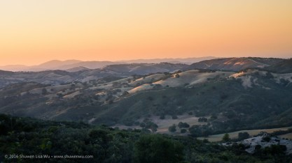 Pastel Sunset at Adelaide, Paso Robles, California, April 2016.