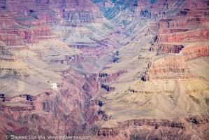 Deep views from South Rim Grand Canyon, Arizona, March 2018.
