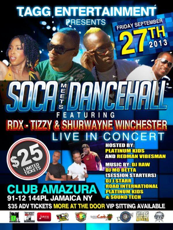Soca Meets Dancehall