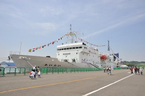 The deep sea research ship Kairei