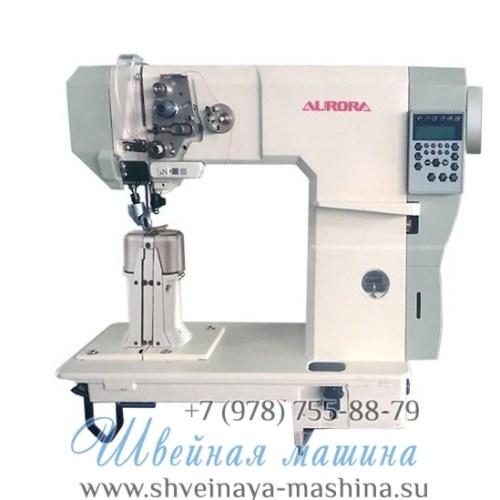 Колонковая машина с 3-м продвижением A-591-D3 Aurora (прямой привод и электронные функции) 1