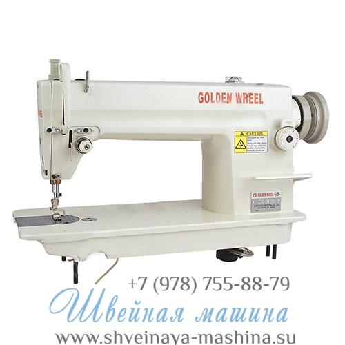 Прямострочная промышленная швейная машина GOLDEN WHEEL CS-5100 «Золотой челнок» 1