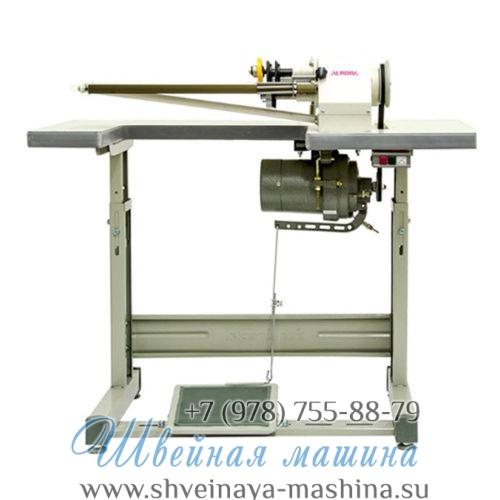 Промышленная машина для нарезания бейки с чулка одним ножом A-901 Aurora 1