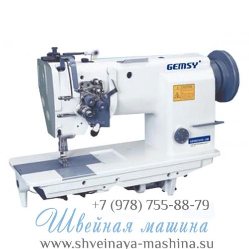 Промышленная двухигольная прямострочная швейная машина Gemsy GEM 2000S-1В 1
